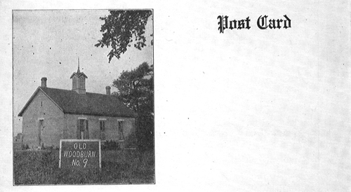 Schoolhouse no. 9 Postcard
