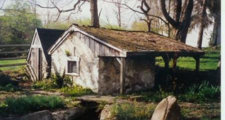 William Blair Springhouse and Root Cellar